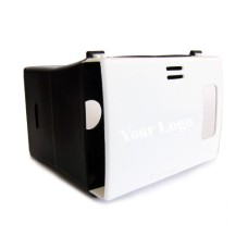 Plastic Virtual Reality Viewer Headset Inspired From Google Cardboard