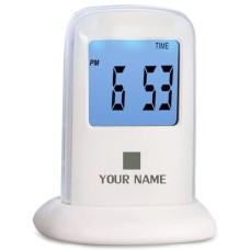 Digital Clock Bluelight