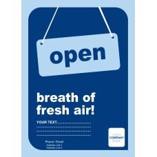 Breath On Fresh Air Poster